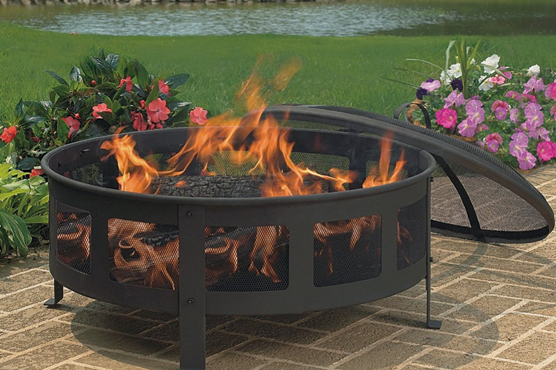 Portable Metal Fire Pit : Cobraco garden fire pits perfect for any