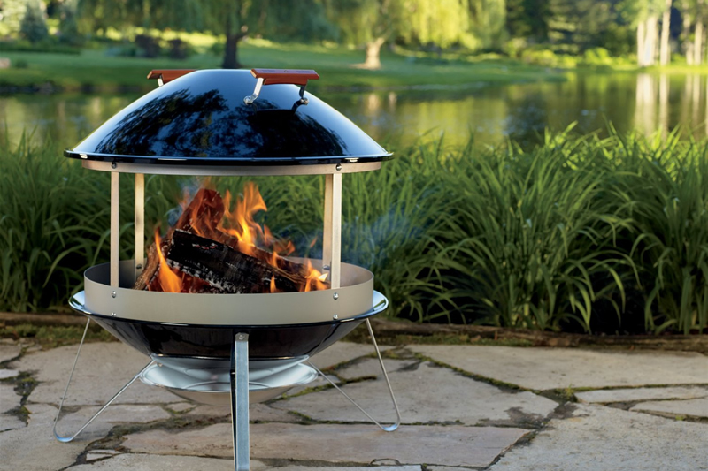 Weber Fire Pit Also Known As The Weber Fireplace